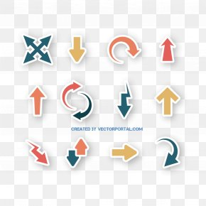 Vector Color Arrows Decoration - Euclidean Vector Arrow PNG