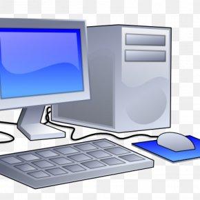 Computer - Clip Art Desktop Computers Personal Computer PNG