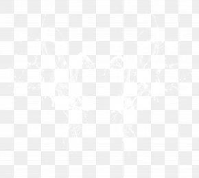 White Water Bubbles - White Black Pattern PNG