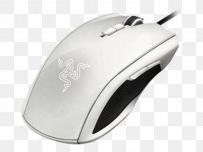 Mouse Razer Inc. Amazon.com WhiteComputer Mouse - Computer Mouse Razer Expert Ambidextrous Taipan PNG