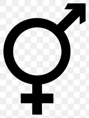 Symbol - Gender Symbol Intersex LGBT Symbols Transgender PNG