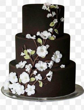 Camellia Chocolate Cake - Wedding Cake Chocolate Cake Icing Cupcake Sheet Cake PNG