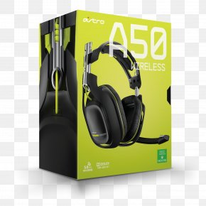 Astro A50 Wireless Headset - ASTRO Gaming A50 Xbox 360 Wireless Headset Xbox One Controller PNG