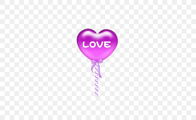 Balloon Pink Heart, PNG, 500x500px, Balloon, Drawing, Heart, Love, Magenta Download Free
