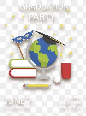 Carnival Graduation Party - Graduation Ceremony Party Convite PNG