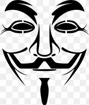 Mask - Guy Fawkes Mask Gunpowder Plot Clip Art PNG