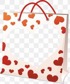 Valentine Dinner - Valentine's Day Red Love Clip Art PNG