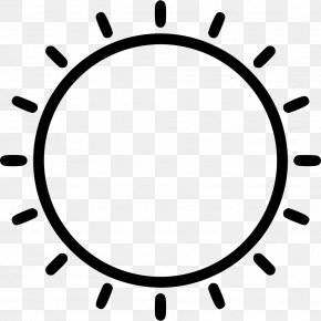 Oval Black And White Icon Design PNG