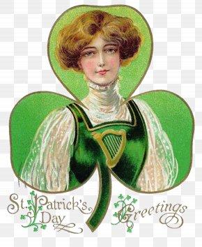 Clover Joker - Ireland Saint Patrick's Day Joker Irish People Holiday PNG