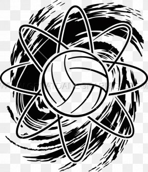 Amazing Volleyball Quotes - Clip Art Black And White Drawing Visual Arts Image PNG