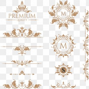 Bright Crown Vector Retro Groove Design Elements - Line PNG