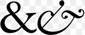 And - Ampersand Garamond Italic Type Typography Font PNG