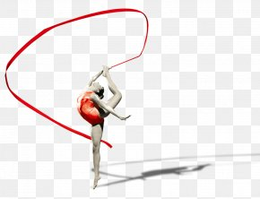 Ribbon Dance Girls - Dance Computer File PNG