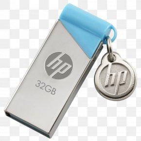 HP USB Pen Drive - Hewlett Packard Enterprise USB Flash Drive Computer Data Storage PNG