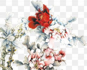 Peony - Mid-Autumn Festival Happiness National Day Of The Peoples Republic Of China Traditional Chinese Holidays Chinese New Year PNG