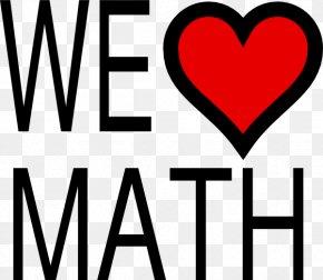 Picture Math - Mathematics Love Clip Art PNG