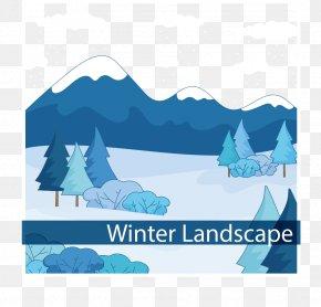 Snow Mountains - Landscape Nxe9vxe9 Snow Euclidean Vector PNG
