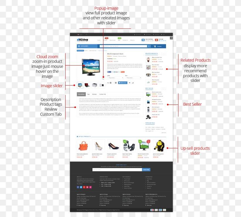 Prestashop Responsive Web Design Web Page Microsoft Fashion Png 616x739px Prestashop Brand Computer Ecommerce Fashion Download