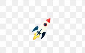 Flat Rocket - Beak Computer Pattern PNG