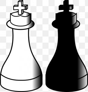 Chess King Cliparts - Chess King Queen Pin Clip Art PNG