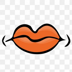 Cartoon Tounge - Mouth Lip Clip Art PNG