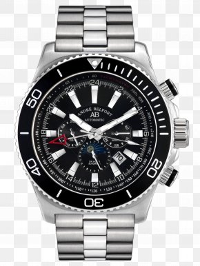 Watch - Diving Watch Chronograph Jewellery Watch Strap PNG