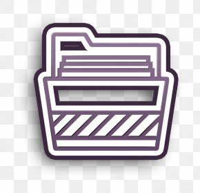 Label Rectangle - Folder Icon Essential Set Icon PNG