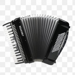 Imported Black Accordion - Piano Accordion Musical Instrument Keyboard Diatonic Button Accordion PNG