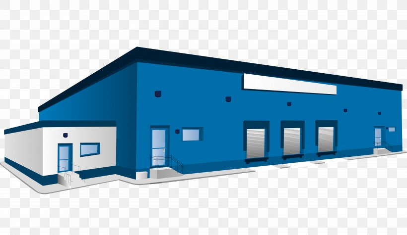 Warehouse Logistics Building Clip Art, PNG, 6000x3478px, Warehouse, Architecture, Brand, Building, Distribution Center Download Free