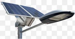 Streetlight - Solar Street Light Solar Lamp LED Lamp Solar Energy PNG