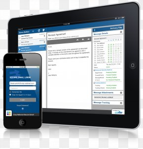 Ipad Silver - Handheld Devices Secure Messaging Computer Software Email Encryption PNG