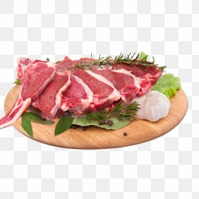 Meat On A Plate - Barbecue Sirloin Steak Hot Pot Beefsteak PNG