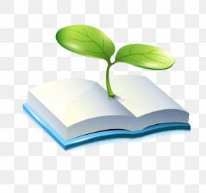 Environmental Books - Cartoon Book PNG