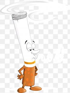 Cigarette - Cigarette Cartoon Smoking Clip Art PNG