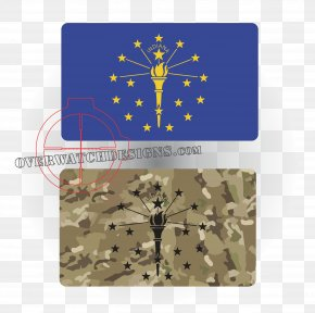 Flag Of Wyoming - Flag Of Indiana Place Mats Rectangle Organism PNG