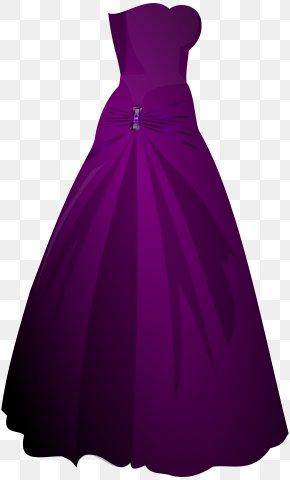 Dress - Dress Ball Gown Formal Wear Clip Art PNG