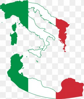Italy Flag - Flag Of Italy Italian Empire Map Flag Of Italy PNG