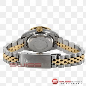 Rolex - Rolex Datejust Watch Colored Gold PNG