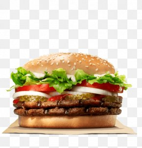 Burger King - Whopper Hamburger Cheeseburger Big King Chicken Sandwich PNG