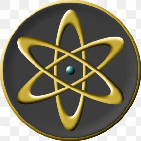 Plaque - Atomic Nucleus Symbol Atomic Theory Nuclear Power PNG