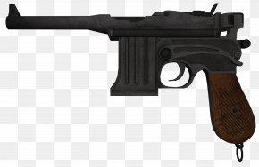 Handgun - BioShock Infinite Weapon Mauser C96 Pistol PNG