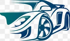 Blue Vector Car - Automobile Engineering Car Mechanical Engineering Electrical Engineering PNG