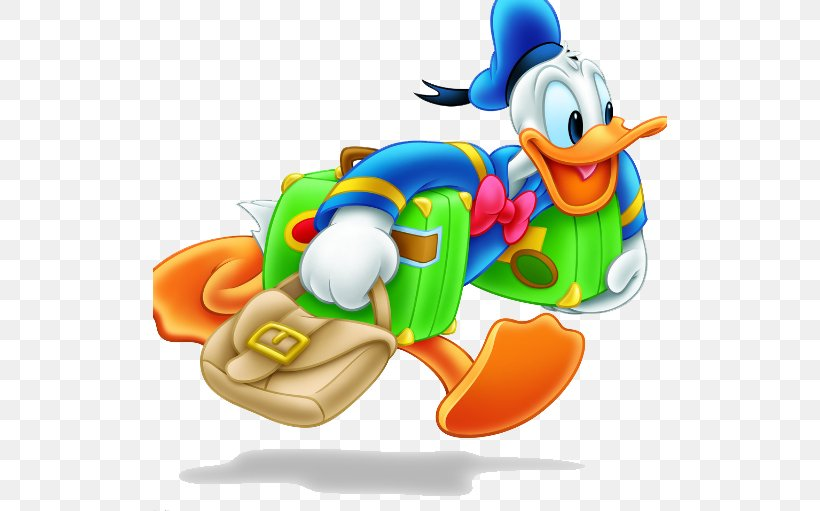 Donald Duck Mickey Mouse Ryoga Hibiki, PNG, 514x511px, Donald Duck, Animation, Bird, Cartoon, Clip Art Download Free