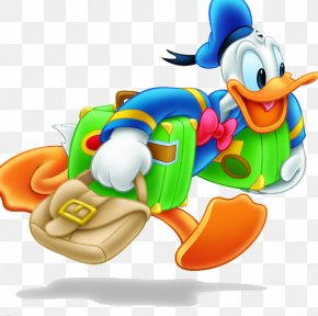 Donald Duck Running - Donald Duck Mickey Mouse Ryoga Hibiki PNG