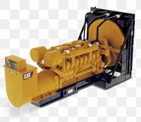 Engine - Caterpillar Inc. Heavy Machinery Engine-generator Excavator PNG