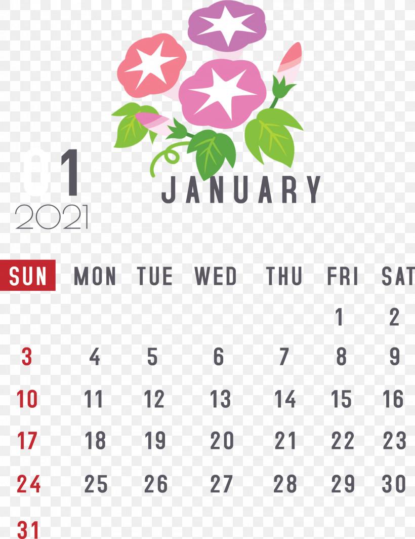 January 2021 Printable Calendar January Calendar, PNG, 2311x3000px, 2019, 2021 Calendar, 2021 Happy New Year, January, Calendar Date Download Free