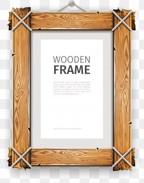 Wood Frame - Picture Frame Photography Illustration PNG