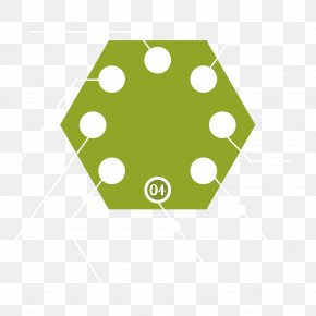 Green Hexagon Logo - Point Line Polygon Hexagon PNG