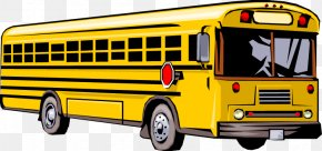 Travel Bus Cliparts - School Bus Clip Art PNG