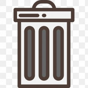 Trash Can - Waste Container The Noun Project Icon PNG
